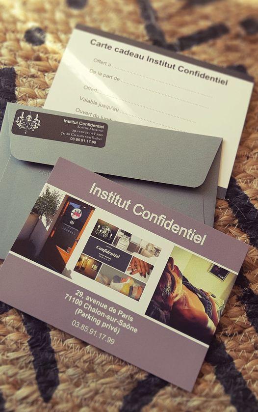 carte cadeau institut confidentiel