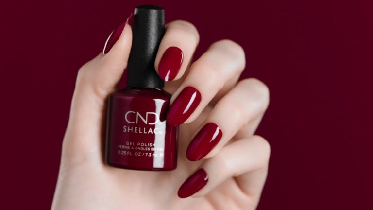 Vernis CND Shellac Rouge
