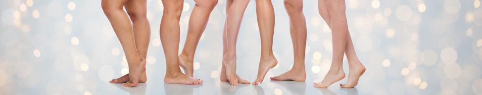 jambes épillées