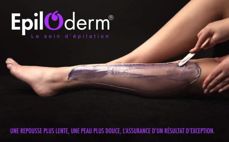 Epiloderme épilation repousse lente peau douce résultat exceptionnel