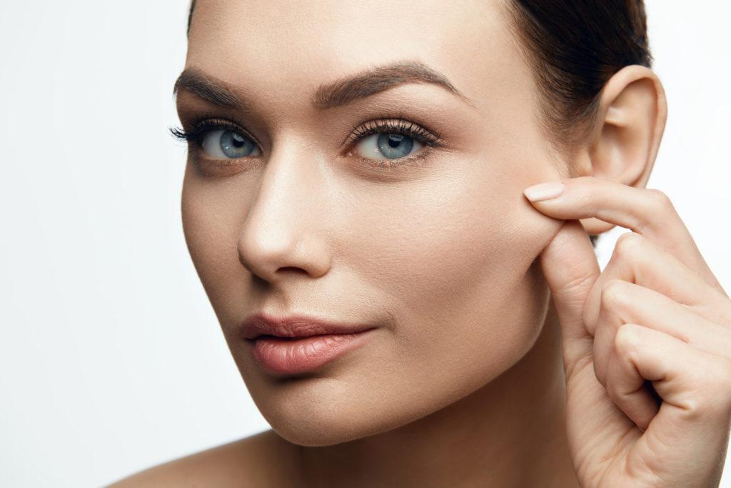 peau saine et élastique
